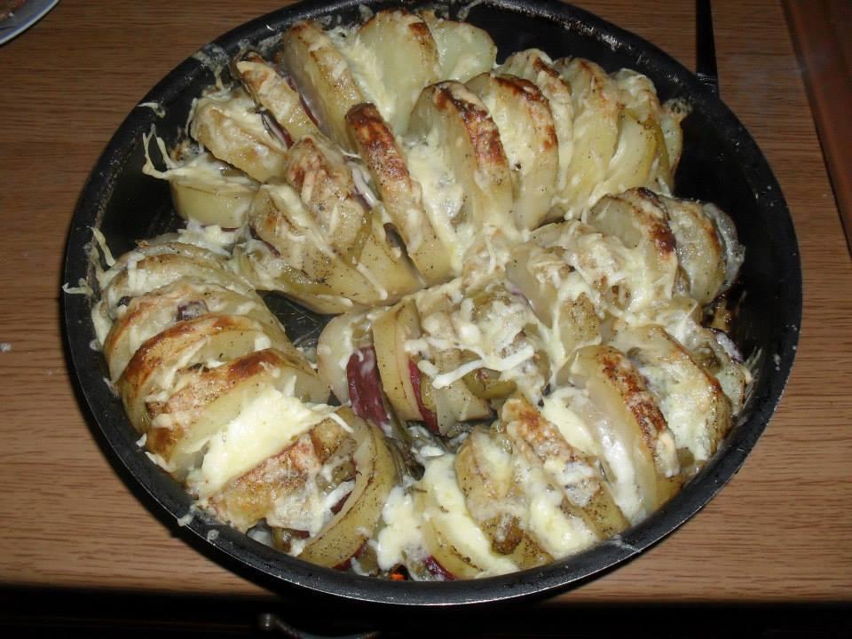 patate në furrë - Erjona Balla - KuzhinnIme.al