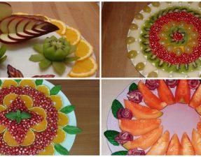 Dekorime me fruta