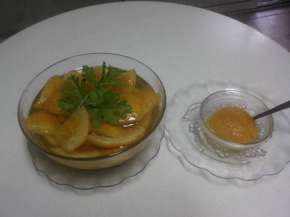 recel gliko portokalli